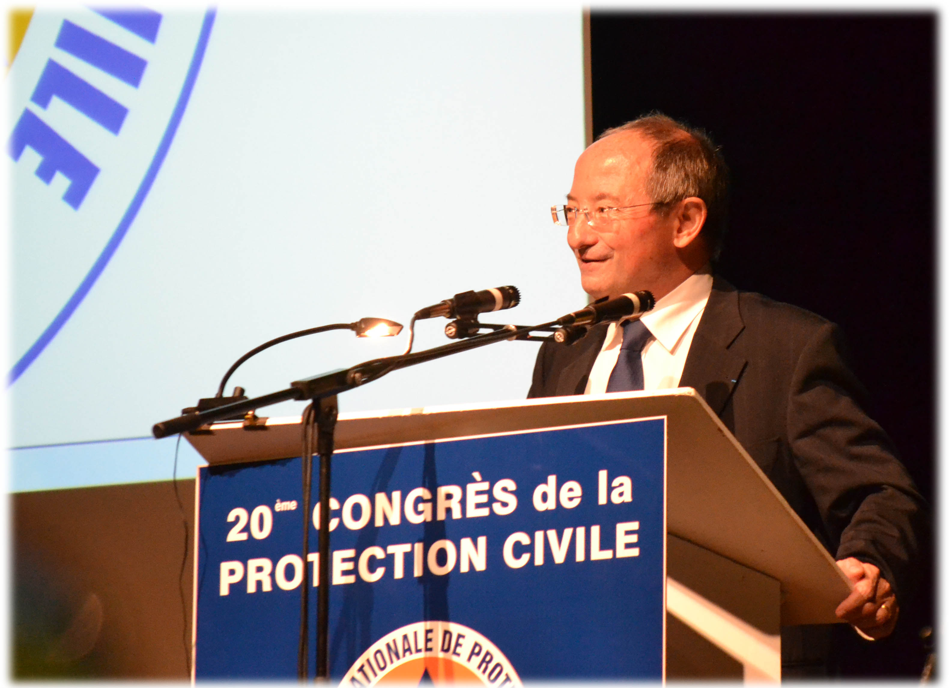 2012 - Président de la Protection Civile - Christian WAX